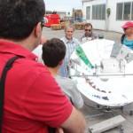 Il prototipo di girarrosto solare