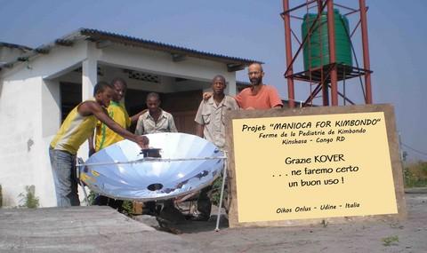 Ringraziamento per la cucina solare