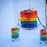"Omaggio a ""food in the rainbow""."