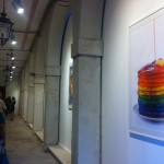 "Mostra serie ""food in the rainbow""."