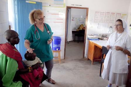 Nadia Elisa dispensario Barsaloi