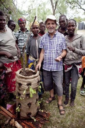 orto in sacco in Kenya