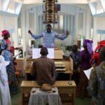 Messa cantata e animata nella cattedrale di Thies
